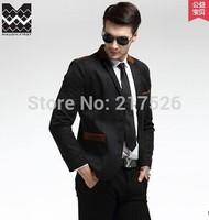 Hot 2015 New Arrival  design Mens Brand Blazer Jacket Coats,Casual Slim Fit Stylish Blazers For Men,Plus Size