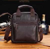 Free shipping  new style of men's genuine leather   shoulder  bag  messenger bag