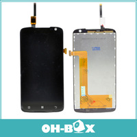 Original Replacement LCD Display With Digitizer Touch Screen Assembly For Lenovo S820 Black Free Shipping