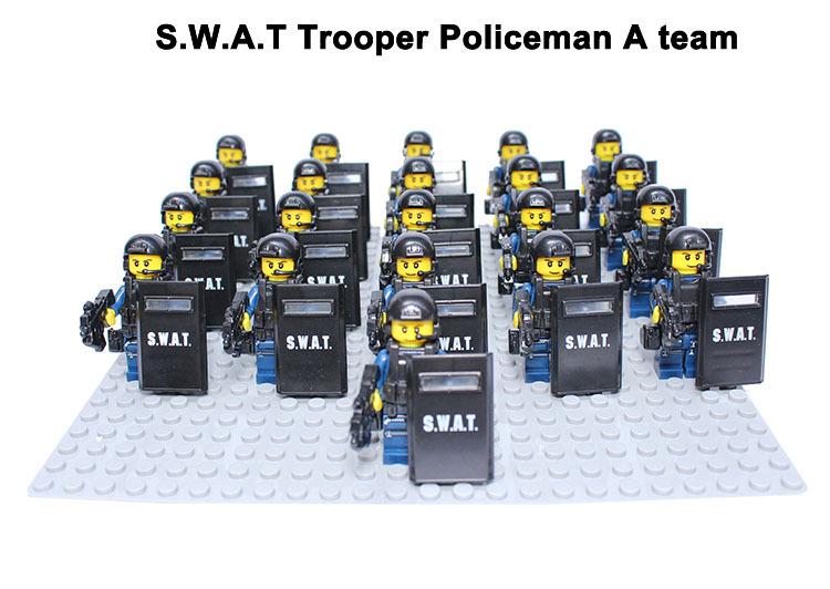 21pcs/lot S.w.a.t Sniper