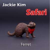 Free shipping Genuine bulk Ferret animal model simulation solid educational Toys for children