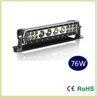17.7 INCH CREE  76W Dual Row LED Light Bar 4X10W+12X3W mixed,   off road light ,led work light Square