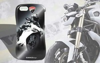 NEW DRACO DUCATI Ventare Waistline Motorcycle Racing Design Aviation 2 in 1 Case for iPhone 5 5S,Free shipping