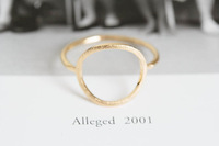 Min 1pc Open round rings, unique couple rings, vintage style rings wedding rings JZ027