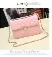 Hot sell evening bag Peach Heart bag women leather handbags Chain Shoulder Bag women messenger bags fashion women's clutches