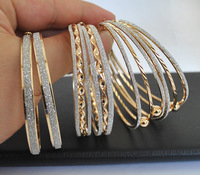 New Big Hoop Earrings 60mm 18K Gold Plated  Hoop Earrings for Women Wholesale Jewelry (Mix minimum order is USD10)