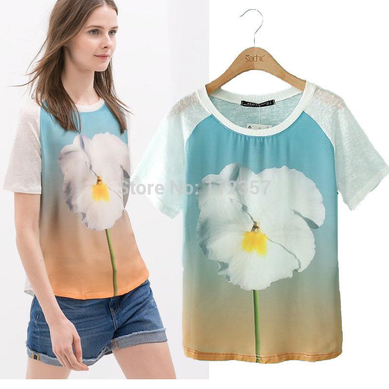 Женская футболка FS2768 o