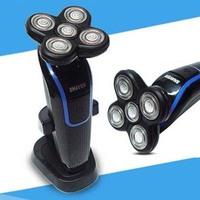 110v or 220v  Gadget Gift Men's Electric Shaver 5D Washable Rechargeable Hair Trimmer Clipper Razor Shaving Machine For Men Boy