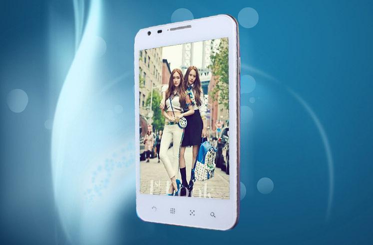 """Original santin x5w msm8225q Quad-Core 5.0"""" 4gb rom 1gb ram 8mp 3g wcdma android 4.1 smatphone"""