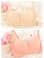 Free shipping 2014 wireless bra 4 breasted adjustable women's seamless underwear sports underwear bra