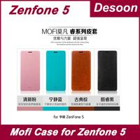 Free Shipping Original Zenfone 5 Mofi Brand Leather Case PU Case For Zenfone 5 cell phone in stock/Koccis