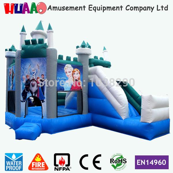 congelés glisser videur gonflable combo gonflable châteaux à vendre avec livraison gratuite par air express à la porte