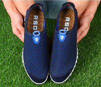 Men's shoes leisure shoes soft breathable fashion summer men net shoes