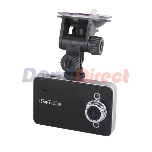 HOT! 1080P Full HD LED Veicular Camera dashcam For Video Recorder DVR Auto K6000 novatek Carcam video Registrator with Car DVRs(China (Mainland))