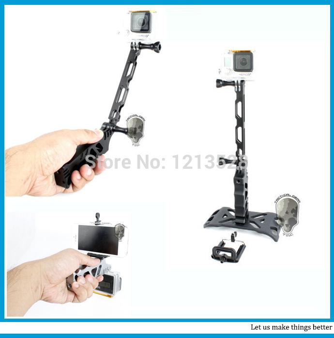 Штатив 6 in1 TMC CNC selfie sj4000 gopro Hero4 hero3 + hero3 SJ5000 HR167 электроника gopro gopro hero3 hero3 hero2 sj4000