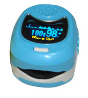 FDA CE Approved  OLED Pediatric Pulse oximeter Oxymeter for Child Kids SPO2 Blood Oxygen Monitor THREE COLORS Yellow, Blue, Pink