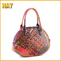 Wholesale New For Women Collection!! Shoulder Bag New Hot Popular Retro Handbag Fashion Woven Handbags Shell Bag