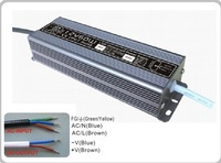 60W Waterproof (IP67) 24V DC Constant Voltage power transformer led driver 100-240v lighting transformers power supplies