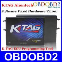 2014 Super New K TAG ECU Programming Tool KTAG Master Version Software V2.06 K-TAG ECU Chip 6 Languages 100% J-Tag Compatible