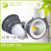 2 pieces/lot luz de led mini 3W GU10 lamp with COB Integrated Light Source 300LM 220V lampada de led para casa