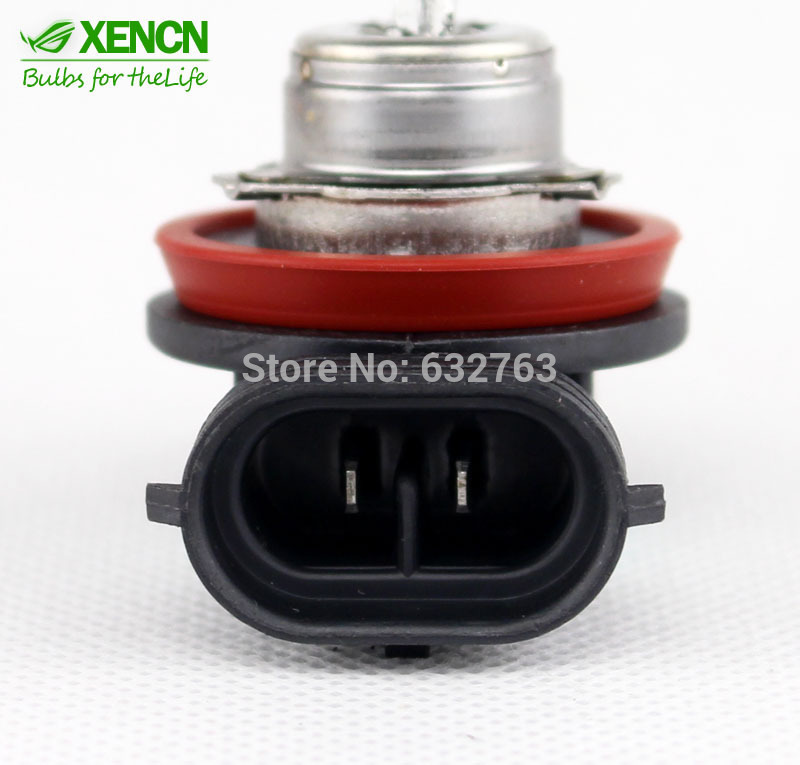 2PCS New XENCN H11 12V 55W 3200K PGJ19 2 Standard Clear Lighting Car Replace Upgrade Bulbs