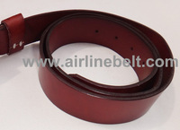 Top classic airplane aircraft aviation airline seat belt buckle genuine leather belt