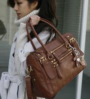 Vintage Desigual Bag Women Handbags Bags Famous Brands Messenger Bag Cross Body Black Motorcyle Bags Big 2014 New Free Shipping