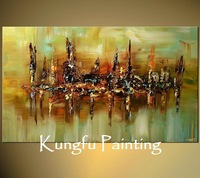 L4081 100% Hand painted unframed good quality large beautiful abstract modern canvas painting pictures on the wall