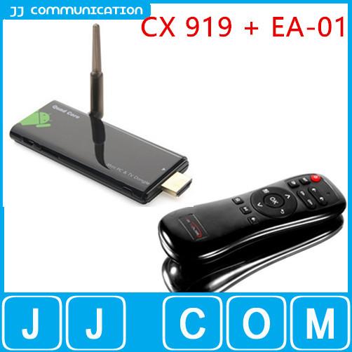 Original CX 919 CX-919 RK3188 Quad Core Andriod TV Box 2GB 8GB Mini PC Dongle HDMI Bluetooth WIFI Android TV Stick+EA Air Mouse(China (Mainland))