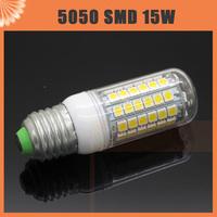 E27 E14 G9 15W LED 69 leds CREE SMD 5050 Corn Light Bulb 220V Spotlight Lamp warm white/ cool white