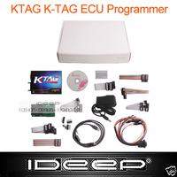 2014 New KTAG K-TAG ECU Programming Tool master version v1.89 + label & carry box , auto ECU programmer flasher,Jtag compatible