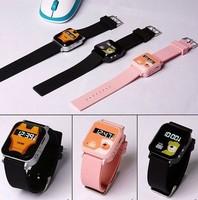 Black/ Pink SOS Panic Button GPS Tracker GPS Kids Tracker Watch Drop Shipping B2 SV006661