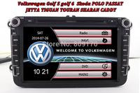 VW dvd player GPS Navigation Canbus Radio for GOLF 6 polo New Bora JETTA MK4 B6 PASSAT Tiguan+Free 4G Map+Free Rear View Camera