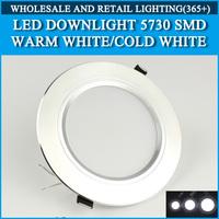 4PCS/lot LED Downlight 5730SMD 10W 15W 20W Warm white/cold white AC165-265V