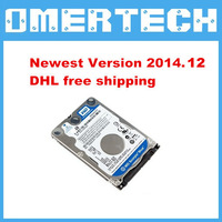 2014.9 Newest Software Star C3 /C4 DAS/XENTRY software EPC for Dell D630 Laptop,Star C3 HDD