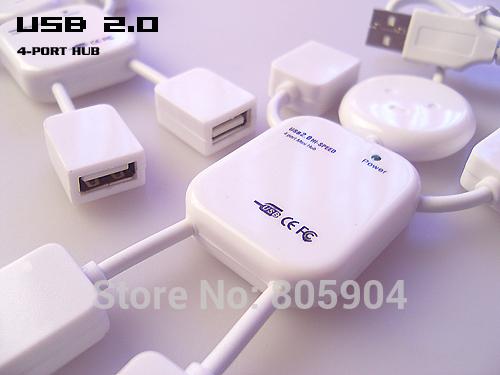 USB разветвитель OEM 4 USB Hub usb разветвитель oem speed usb 4 usb 2 0 480mbps