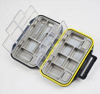 Fishing supplies waterproof lure tool box fishing hook  tackle small accessories storage box