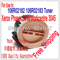 Compatible Toner For Xerox Phaser 3010 3040 3045 Printer,106R02182 106R02183 Toner For Xerox Workcentre 3045 3045B Printer Laser