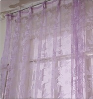 romantic curtain yarn for living room finished window sheer screening tulle curtain for bedroom