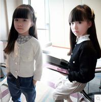Hu sunshine wholesale new 2014 Summer fashion girls solid white pink pearl sleeveless dress