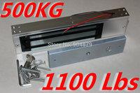 1100lbs 500kg Single Door Magnetic Lock Fingerprint Keypad controller senso Lock Security Access controller system Lock magnetic