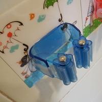 new creative magic  Mop clip ABS Seamless Hook Bathroom kitchen door Robe Hooks