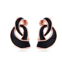 Wholesale Cheap 2014 New Fashion Brand Trendy Cute Warp Shaped Earrings for Girls Gift  Women Jewelry Hot Charms Drop Shipping