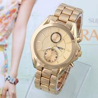 Women Dress Business Watches Brand Famous KINGSKY Quartz Watch Full Steel Wristwatches Fashion Reloj Mujer Ladies watch New 2014
