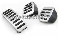 Stainless Pedals Fit For Volkswagen Polo Jetta MK4 Bora Lavida Golf MK4 Skoda Fabia  Clutch Accelerator Gas Brake  pedal Pedal