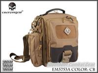 EMERSON Tablet + Netbook Medium Messenger Bag Tacktical Ipad Bag 1000D Nylon Coyote Brown EM5753A