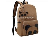 2 Colors Casual Simple Fashion Women Girls Cute Cartoon Bear Backpack/School Bags/Computer/Travel Bag