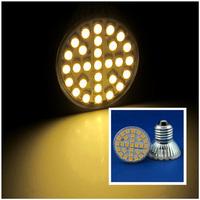 6 Pcs/lot Free Shipping E27 LED 3W/4W/5W 29pcs/48pcs/60pcs SMD3528/5050 LED Spot Light Lamp Bulb AC220V Warm White/Nature White