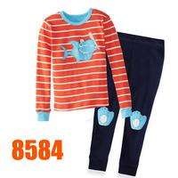 Girls Frozen Friends Pajamas Sets Children Autumn -Summer Clothing Set New 2014 Wholesale Kids Cartoon LongSleeve Pijamas 8468