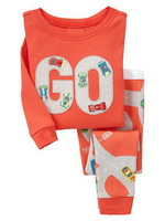 Go,Wholesale Baby Boys Girls Pure Cotton long sleeve T-shirt+pant/pajamas/casual homewear suit/6pcs/lot